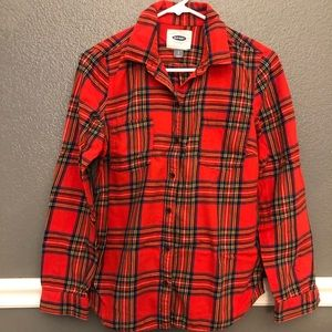 Old Navy | plaid cozy flannel